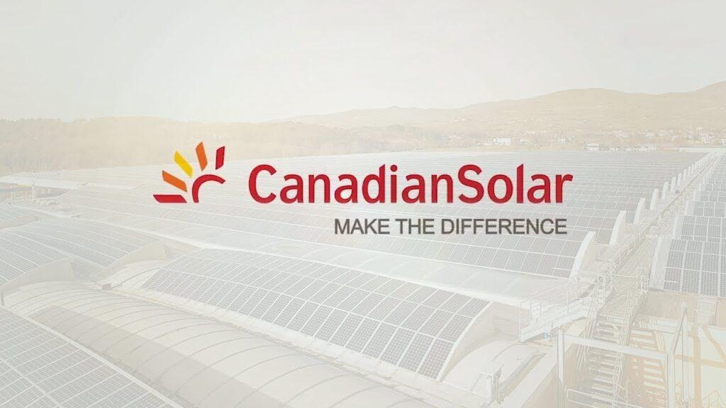 Canadian Solar napelem rendszer